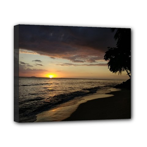 Rincon Puerto Rico Sunset Canvas 10  X 8  by sherylchapmanphotography