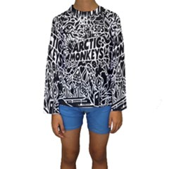 Arctic Monkeys Cool Kids  Long Sleeve Swimwear