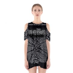 Moving Units Collision With Joy Division Shoulder Cutout One Piece