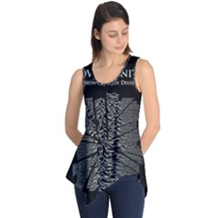 Moving Units Collision With Joy Division Sleeveless Tunic