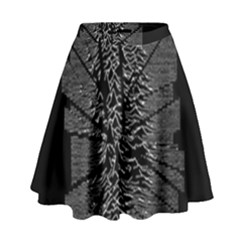 Moving Units Collision With Joy Division High Waist Skirt