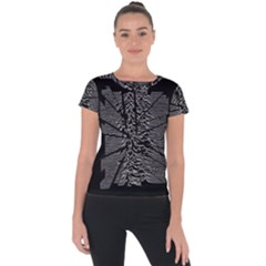 Moving Units Collision With Joy Division Short Sleeve Sports Top  by Samandel