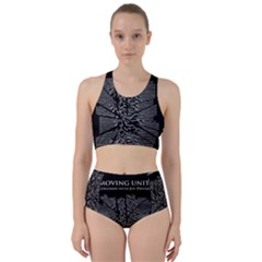 Moving Units Collision With Joy Division Racer Back Bikini Set