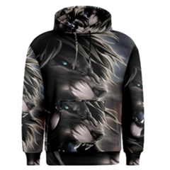 Angry Male Lion Digital Art Men s Pullover Hoodie
