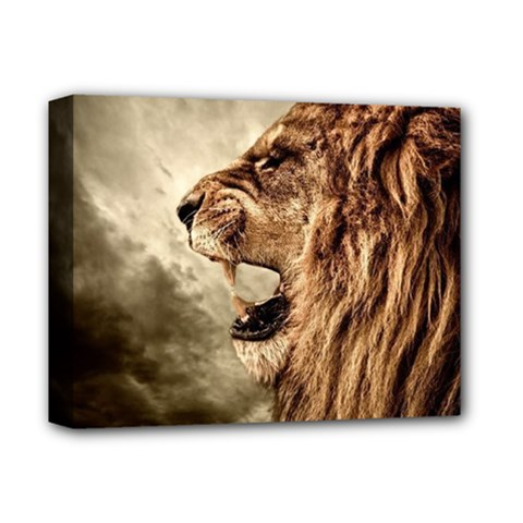 Roaring Lion Deluxe Canvas 14  X 11