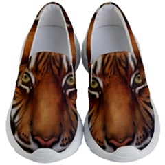 The Tiger Face Kid s Lightweight Slip Ons