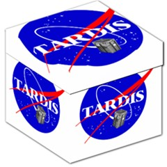 Tardis Nasa Parody Storage Stool 12