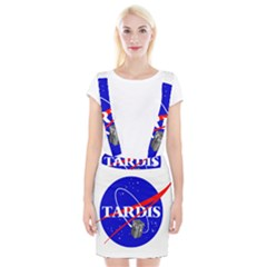 Tardis Nasa Parody Braces Suspender Skirt