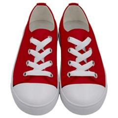 Pokedex Kids  Low Top Canvas Sneakers