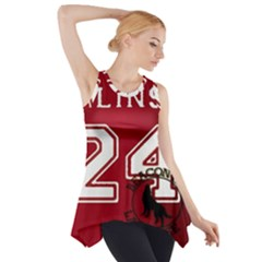 Stilinski Teen Wolf Beacon Hills Lacrosse Side Drop Tank Tunic