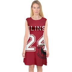 Stilinski Teen Wolf Beacon Hills Lacrosse Capsleeve Midi Dress