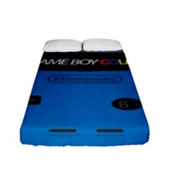 Game Boy Colour Blue Fitted Sheet (full/ Double Size)
