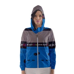 Game Boy Colour Blue Hooded Wind Breaker (women)