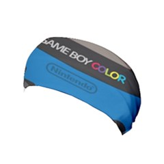 Game Boy Colour Blue Yoga Headband by Samandel