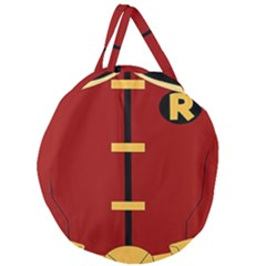 Robin Body Costume Giant Round Zipper Tote