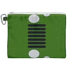Jeep Simple Logo Canvas Cosmetic Bag (xxl)