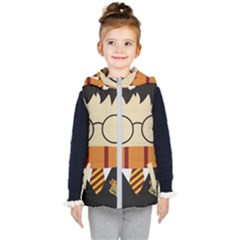 Harry Potter Cartoon Kid s Hooded Puffer Vest