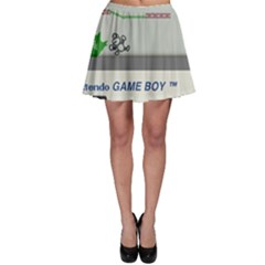 Game Boy White Skater Skirt