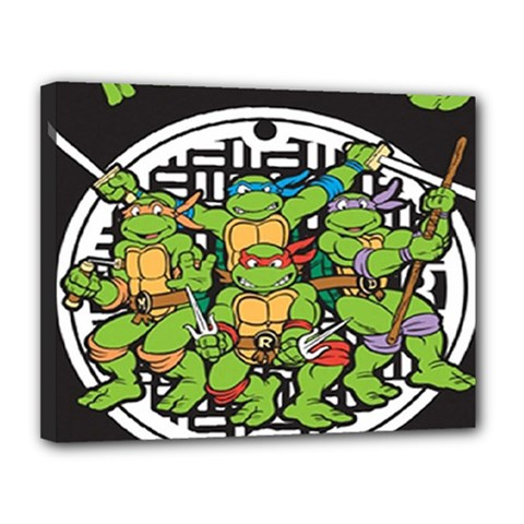 Teenage Mutant Ninja Turtles Hero Canvas 14  X 11