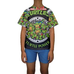Teenage Mutant Ninja Turtles Hero Kids  Short Sleeve Swimwear