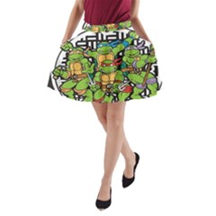 Teenage Mutant Ninja Turtles Hero A Line Pocket Skirt