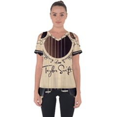 Classic Vintage Guitar Cut Out Side Drop Tee