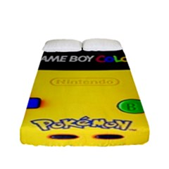 Game Boy Yellow Fitted Sheet (full/ Double Size)