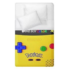 Game Boy Yellow Duvet Cover (single Size) by Samandel