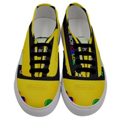 Game Boy Yellow Men s Classic Low Top Sneakers