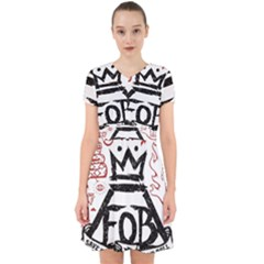 Save Rock And Roll Fob Fall Out Boy Adorable In Chiffon Dress