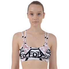 Save Rock And Roll Fob Fall Out Boy Line Them Up Sports Bra