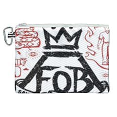Save Rock And Roll Fob Fall Out Boy Canvas Cosmetic Bag (xl) by Samandel