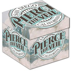 Pierce The Veil San Diego California Storage Stool 12