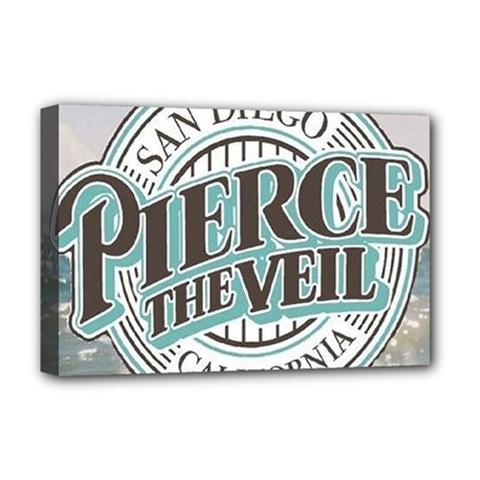 Pierce The Veil San Diego California Deluxe Canvas 18  X 12