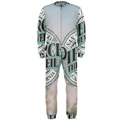 Pierce The Veil San Diego California Onepiece Jumpsuit (men)