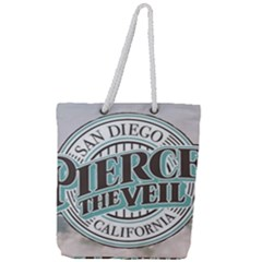 Pierce The Veil San Diego California Full Print Rope Handle Tote (large) by Samandel