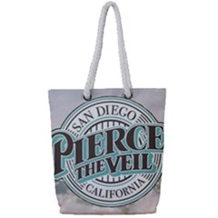 Pierce The Veil San Diego California Full Print Rope Handle Tote (small) by Samandel