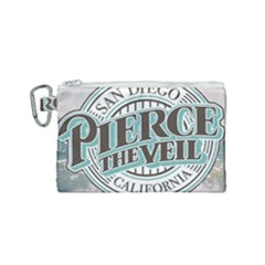 Pierce The Veil San Diego California Canvas Cosmetic Bag (small) by Samandel