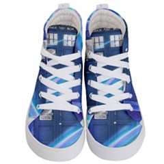 Tardis Space Kid s Hi Top Skate Sneakers