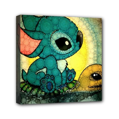 Stich And Turtle Canvas Travel Bag