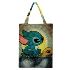 Stich And Turtle Classic Tote Bag