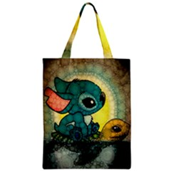 Stich And Turtle Zipper Classic Tote Bag