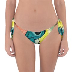 Stich And Turtle Reversible Bikini Bottom