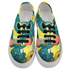Stich And Turtle Women s Classic Low Top Sneakers