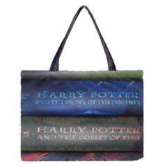 Comic Collection Book Zipper Medium Tote Bag