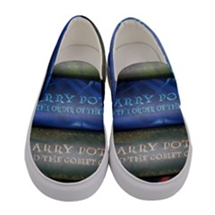 Comic Collection Book Women s Canvas Slip Ons