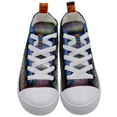 Comic Collection Book Kid s Mid Top Canvas Sneakers