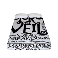 Pierce The Veil Fitted Sheet (full/ Double Size) by Samandel