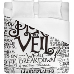 Pierce The Veil Duvet Cover (king Size) by Samandel