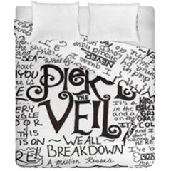 Pierce The Veil Duvet Cover Double Side (california King Size) by Samandel
